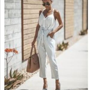 Pocketed linen pants - NWT